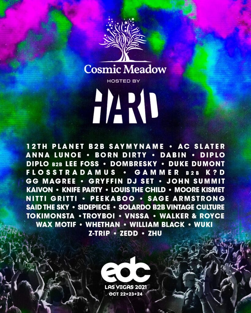 Hard and EDC - Co-op Stage Lineup - The Era Of EDM Magazine