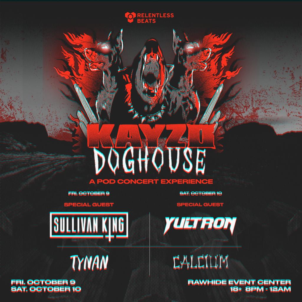 Kayzo Doghouse Flier - Era Of EDM