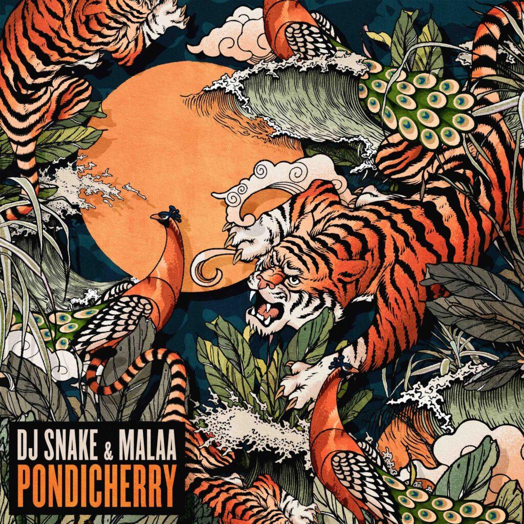 DJ Snake and Malaa Pndicherry